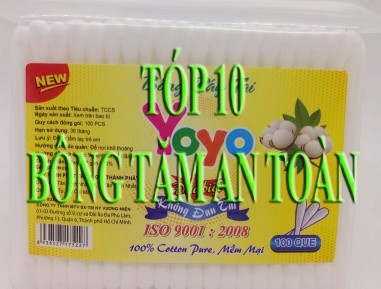 Tốp 10 Thương Hiệu Tăm Bông Vệ Sinh Tai An Toàn